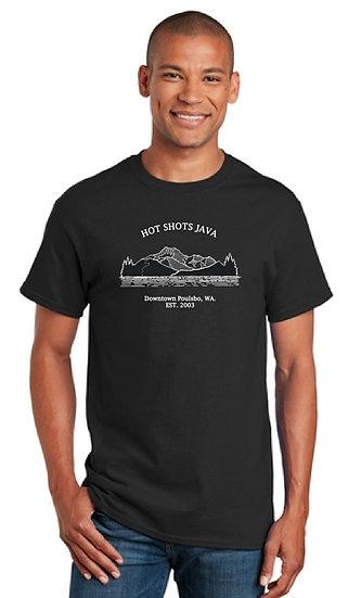 Mens Short Sleeve Mountain T-shirt
