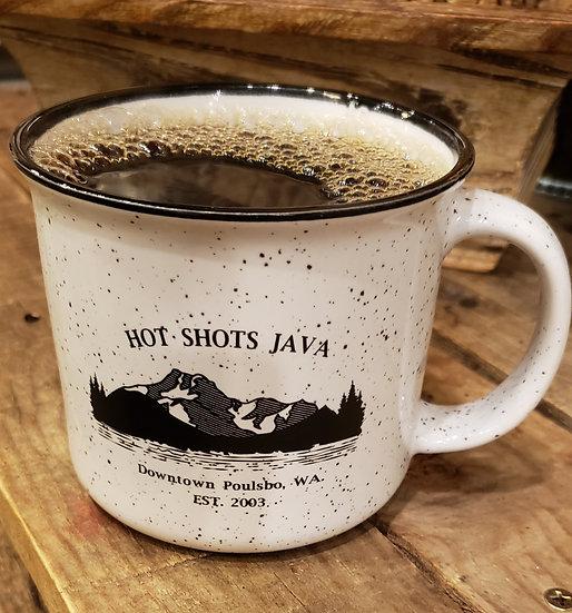 16 oz Campfire Mountain Mug