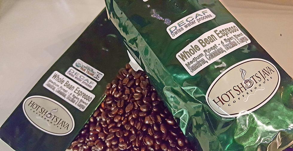 Espresso blend- DECAF