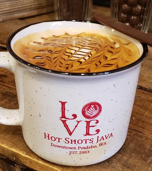16 oz Campfire Love Mug