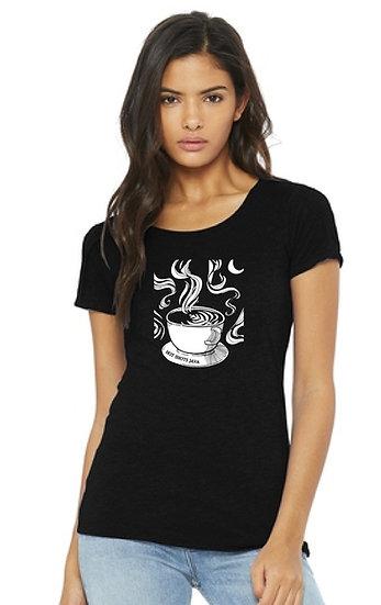 Womens Latte Art T Shirt