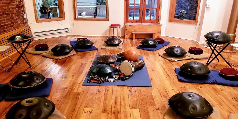All Sounds Handpan Music Workshop and Dinner