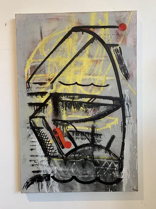 Abstract by Artist Christobal Bernal