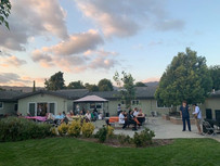 Our Backyard During A Summer Event
