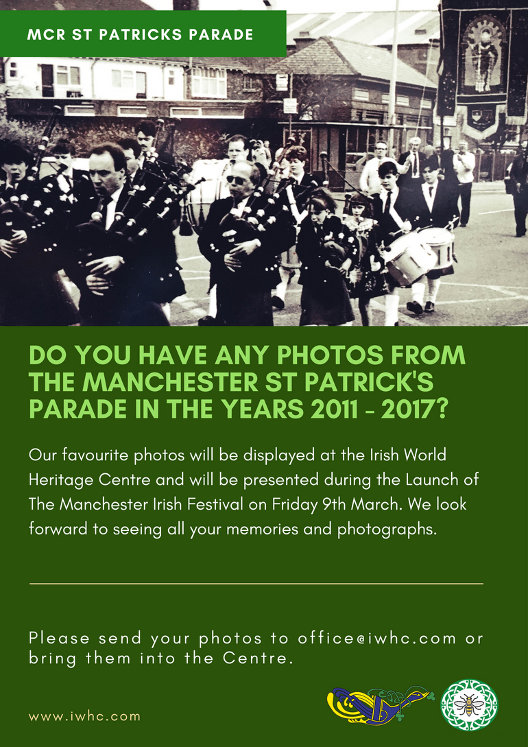 Do you have any photos from the Manchester St Patrick's Parade 2011-2017?