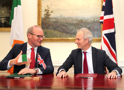 Tánaiste signs agreement with UK on Common Travel Area