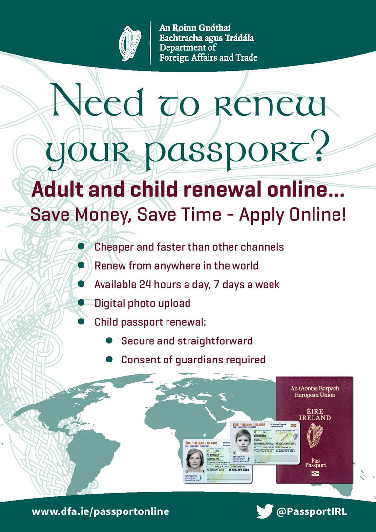 Passport Renewal System online