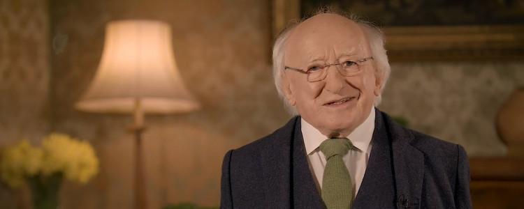 2018 St. Patrick's Day Message from President Michael D. Higgins