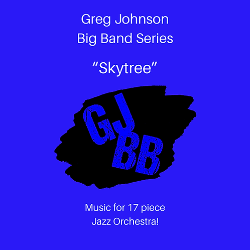 Skytree (big band sheet music)