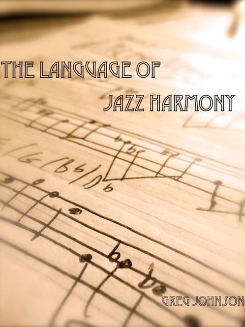 Language of Jazz Harmony (pdf textbook)