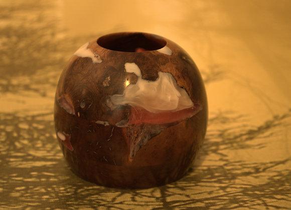 Small Vase of Manzanita Root and Acrylic
