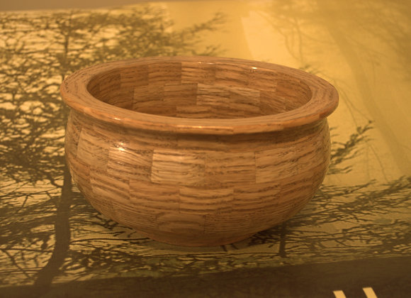 Oak Segmented Bowl