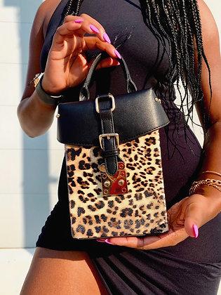 The Cheetah Box Crossbody