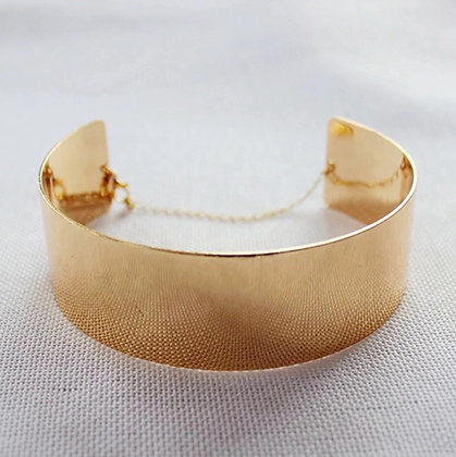The Milan Smooth Metal Choker