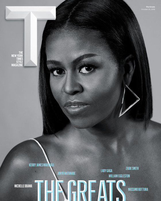 Michelle Obama slays the October cover of Times Magazine!