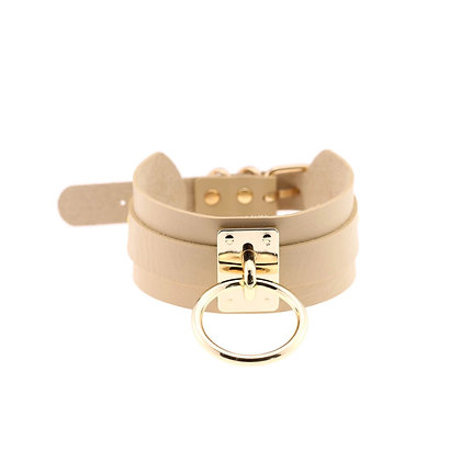 The (Nude) Madison Buckle Choker