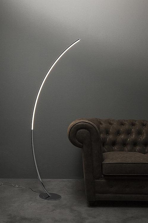 Kare - Lampada da terra led ad arco moderna