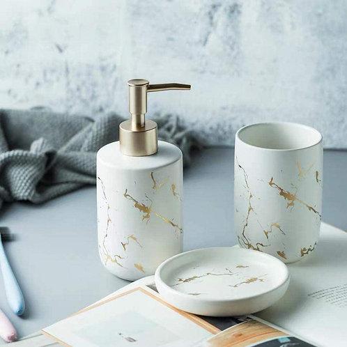 Marble venus - Set di accessori per il bagno