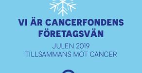 Vi är cancerfondens företagsvän julen 2019
