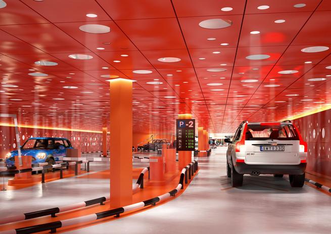 Mall of Scandinavia Garage