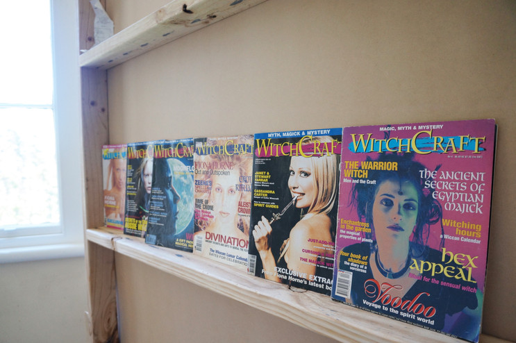 Issues of Withcraft Magazine