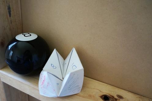 Magic 8 Ball & Chatter Box