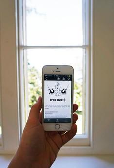 Eliza Gauger, Problem Glyphs, 2015-ongoing, smartphone app. Photo by Jess Boyce