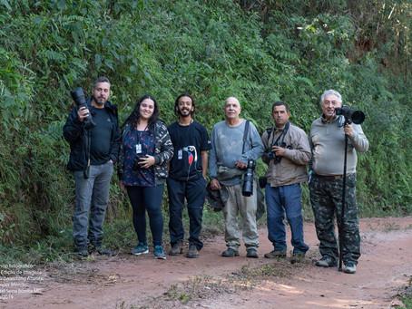 Primeiro Workshop Fotográfico de aves e Edição de imagens no Hotel Serra Bonita em Delfim Moreira/MG