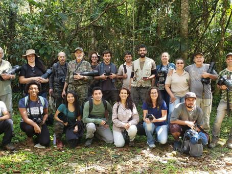 A Birds Atlantic esteve presente no evento Vem passarinhar, realizado em Penedo-RJ.