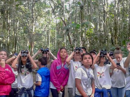 Diário de campo #001 - Voluntariado no projeto Jacutinga