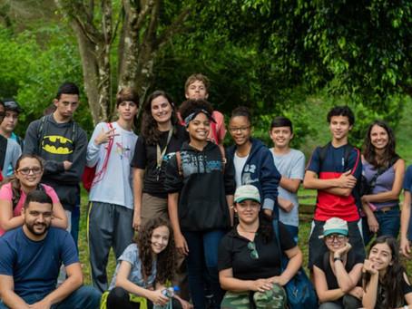 Diário de campo #008 - Projeto Guri visita o Projeto Jacutinga