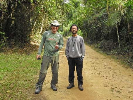 Diário de campo #029 - Guiamento na Serrinha do Alambari/RJ