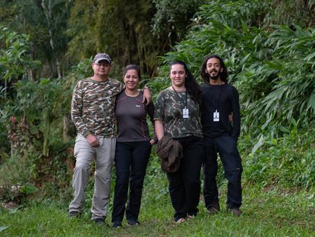 Diário de campo #035 - Guiamento em Penedo/RJ