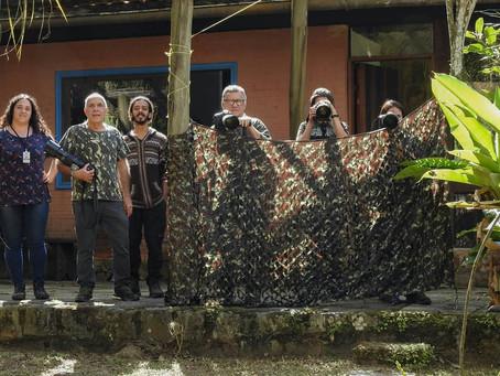 Diário de campo #031 - Oficina de Aves em Movimento em Penedo/RJ