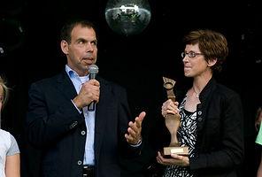 2010 BOV trofee De Groenste Ondernemer (Hans van Berkel)