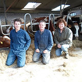 Frank, Yvonne en Corné Linschoten