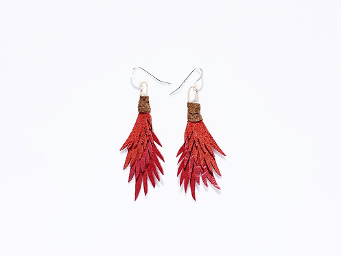 Blooming Hibiscus Earrings