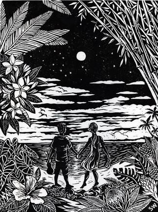 """""""A Lovers Walk of Aloha"""""""