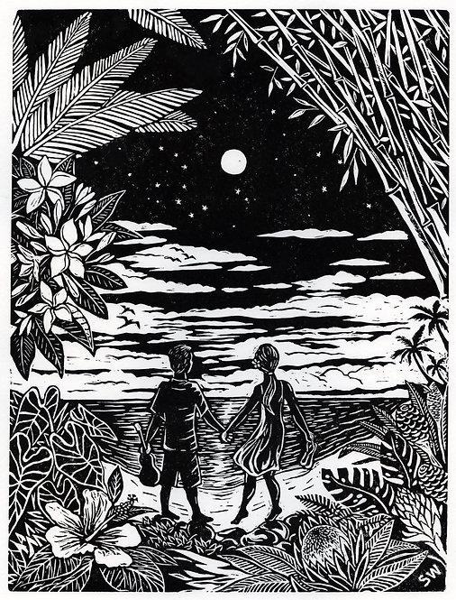Lover's Walk of Aloha