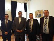 Рабочая встреча представителей МСВАЭП с послом Египта