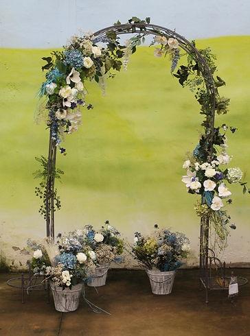 decoración boda preservado, flores secas, artificial