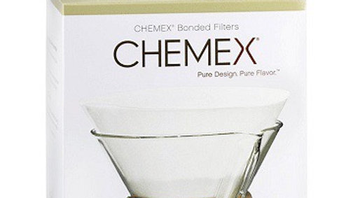 Chemex 6 Cup Bonded Circle Filters, 100pk