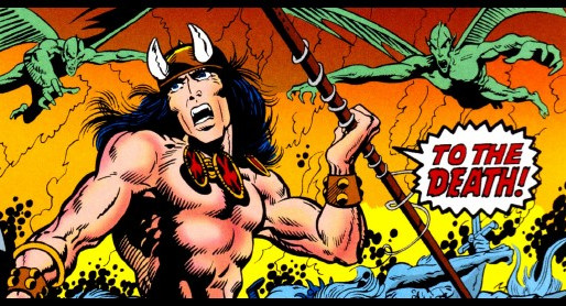 CONAN, THE BARBARIAN #001
