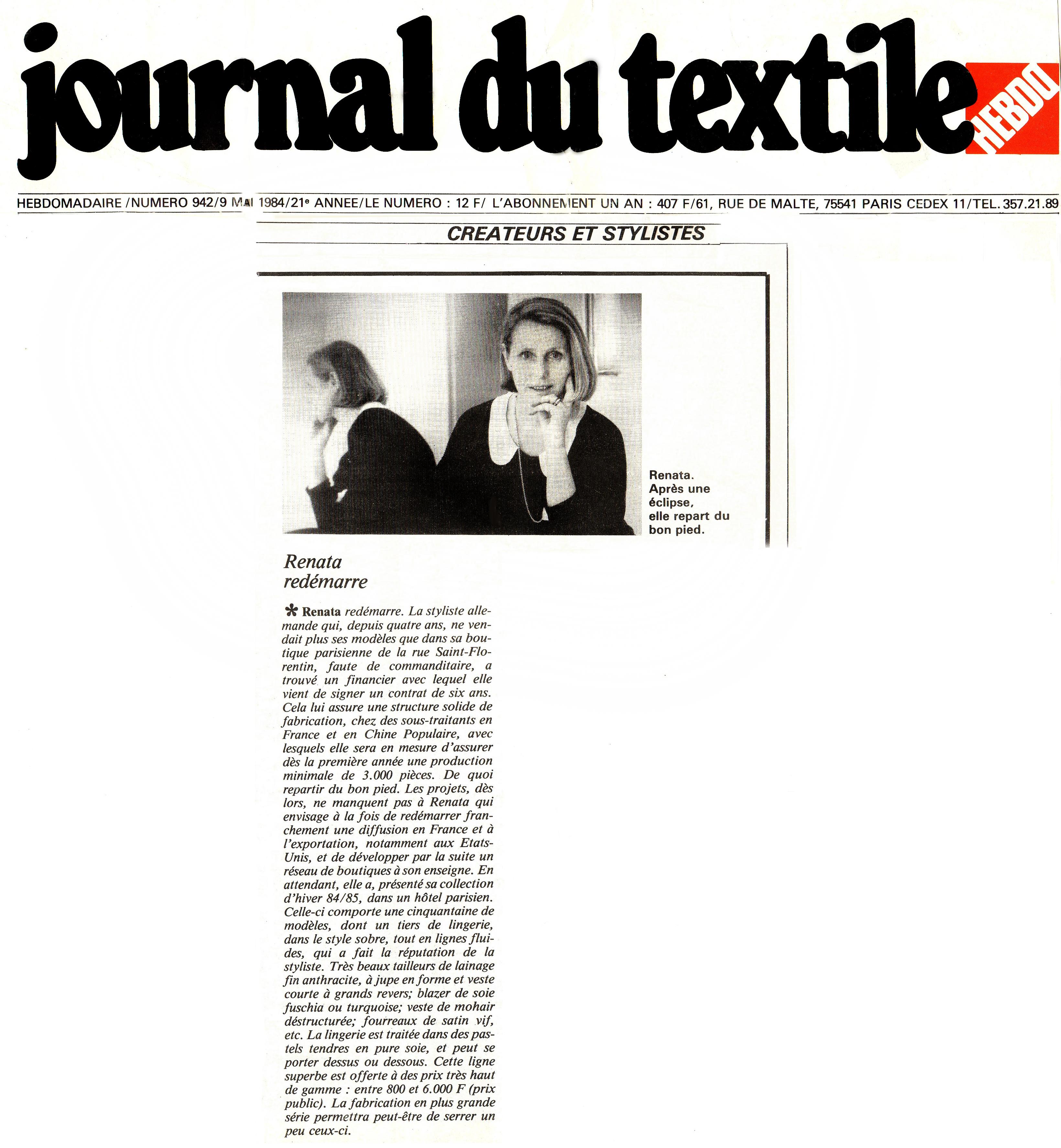Journal du textile