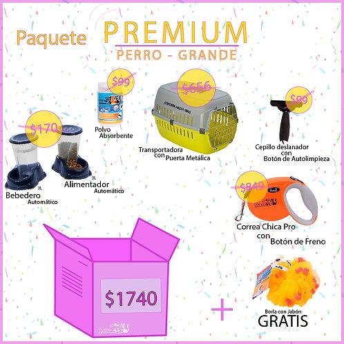 Paquete Premium para Perro Grande