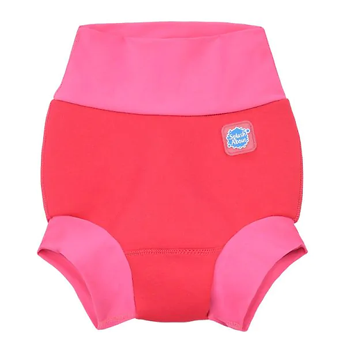 Happy Nappy/Warm in One Combo Pink