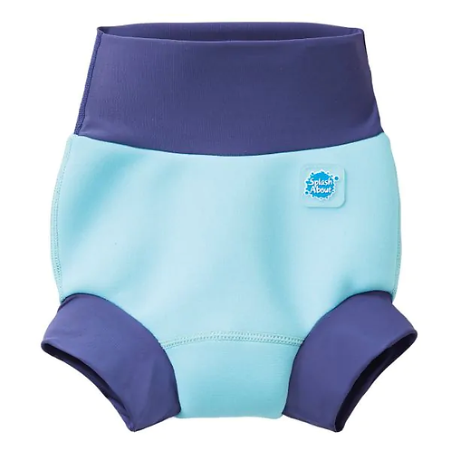 Happy Nappy/Warm in One Combo Blue