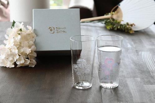 Tumbler Glass Hanabi (Set of 2 Pcs)