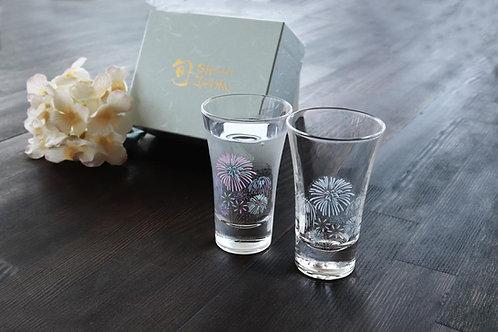 Tenkai Glass Hanabi (Set of 2 Pcs)