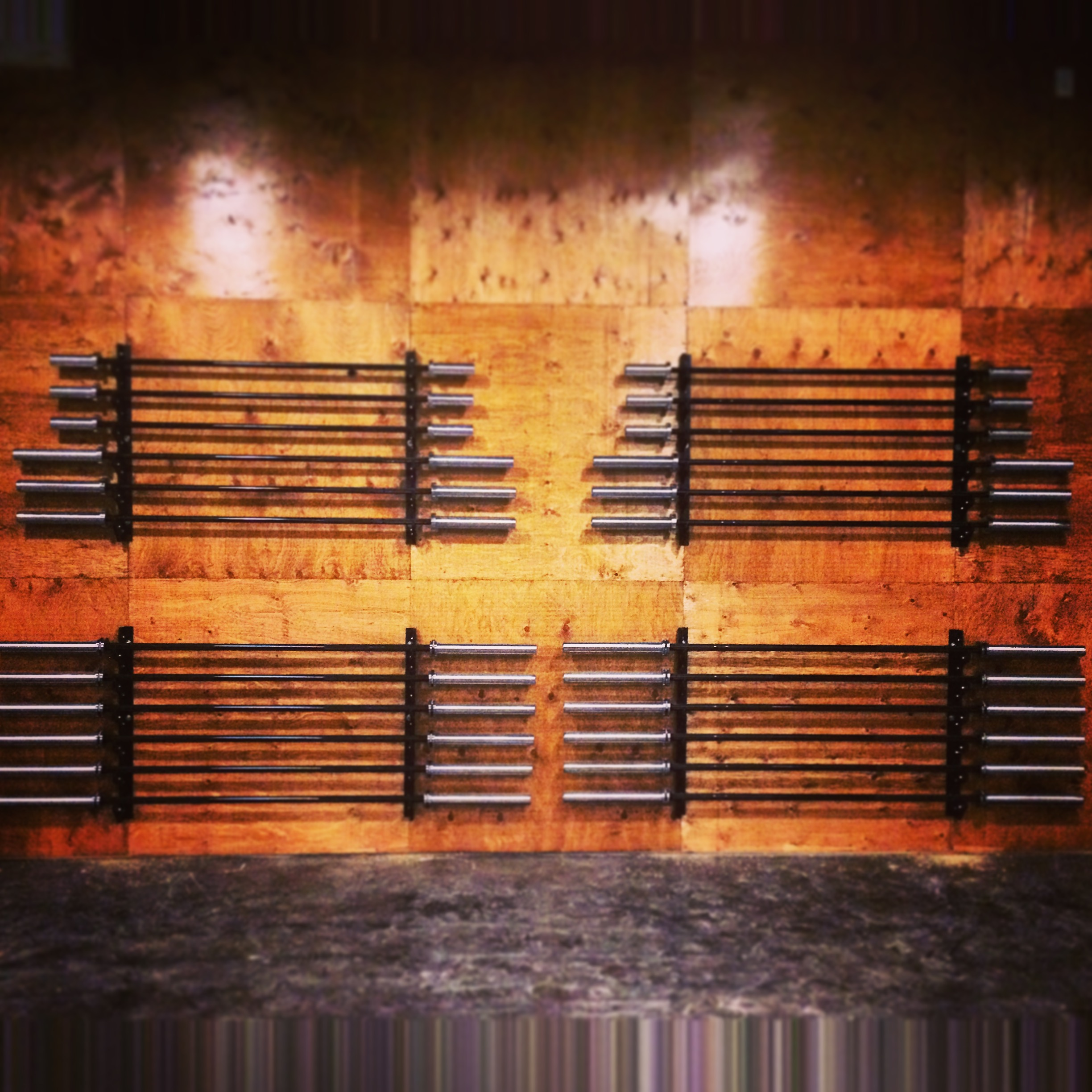 The barbell Wall